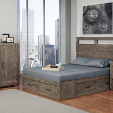 Rustic Bedroom by Warehouse74