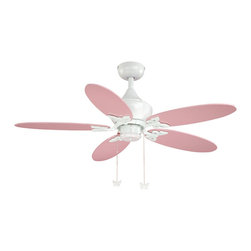 "Vaxcel - Angela White 44"" Ceiling Fan - Vaxcel FN44322W Angela White 44"" Ceiling Fan"