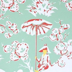 asian wallpaper by Meg Braff Designs