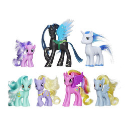 "My Little Pony Favorite Collection, Friendship is Magic - Every fan has to have a collection of My Little Pony figurines. Get the whole stable of the ""Friendship is Magic"" series with this set!"