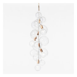 Pelle Designs - Pelle Designs | Tall Bubble Chandelier - Design by Jean and Oliver Pelle, 2012.