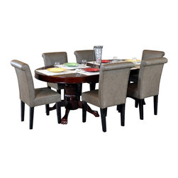 BBO Poker Tables - BBO Poker The Premier Premium 7-Piece Poker Table Set BLK-SS - A poker table that matches your style!