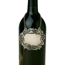Franmara - Pewter Vineyard Wine Bottle Or Decanter Placard with Grape Design - This gorgeous Pewter Vineyard Wine Bottle Or Decanter Placard with Grape Design has the finest details and highest quality you will find anywhere! Pewter Vineyard Wine Bottle Or Decanter Placard with Grape Design is truly remarkable.