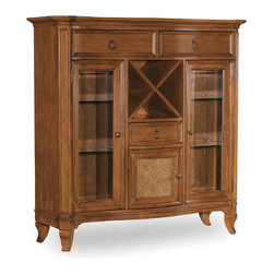 Hooker Furniture - Hooker Furniture Windward Display Buffet 1125-76907 - Three drawers