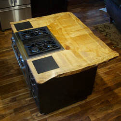 Contemporary Kitchen Islands And Kitchen Carts -