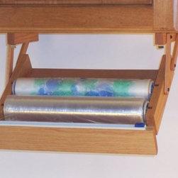 Plastic Wrap Dispenser - Ultimate Kitchen Storage
