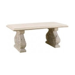 Outdoor Table Furniture, Roman Stone 1900 x 950 Outdoor Table - Carved by the gods.