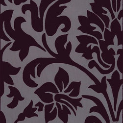 Surya - Contemporary Cosmopolitan 2'x3' Rectangle Prune Purple, Dove Gray Area Rug - The Cosmopolitan area rug Collection offers an affordable assortment of Contemporary stylings. Cosmopolitan features a blend of natural Prune Purple, Dove Gray color. Hand Tufted of 100% Polyester the Cosmopolitan Collection is an intriguing compliment to any decor.