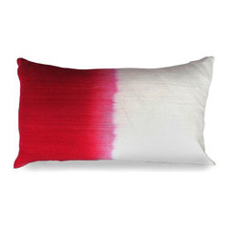 Monroe Pillow - Dip-dye is a timeless technique that never goes out of style. With the Monroe pillow, the style possibilities are endless. Perfect when a pop of color is needed, this accent will look stunning in a boudoir pillow arrangement, showcasing its utter loveliness and beauty.