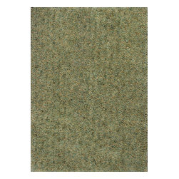"""Kas - Contemporary Urban 2'3""""x3'9"""" Rectangle Sage Area Rug - The Urban area rug Collection offers an affordable assortment of Contemporary stylings. Urban features a blend of natural Denim color. Handmade of 100% Twisted Polyester the Urban Collection is an intriguing compliment to any decor."""