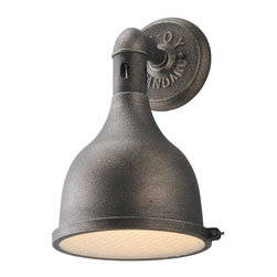 Troy Lighting - Troy Lighting B3862 Telegraph Hill Aged Pewter Outdoor Wall Sconce - Troy Lighting B3862 Telegraph Hill Aged Pewter Outdoor Wall Sconce