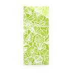 "Kess InHouse - Jacqueline Milton ""Vine Shadow - Lime"" Green Floral Metal Luxe Panel (9"" x 21"") - Our luxe KESS InHouse art panels are the perfect addition to your super fab living room, dining room, bedroom or bathroom. Heck, we have customers that have them in their sunrooms. These items are the art equivalent to flat screens. They offer a bright splash of color in a sleek and elegant way. They are available in square and rectangle sizes. Comes with a shadow mount for an even sleeker finish. By infusing the dyes of the artwork directly onto specially coated metal panels, the artwork is extremely durable and will showcase the exceptional detail. Use them together to make large art installations or showcase them individually. Our KESS InHouse Art Panels will jump off your walls. We can't wait to see what our interior design savvy clients will come up with next."
