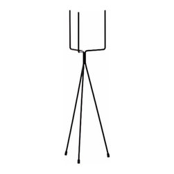Pitchfork Plant Stand - Your plants are tired of living on the ground. They're ready to go to new heights. So take them there with this cool, stylish, retro plant stant.