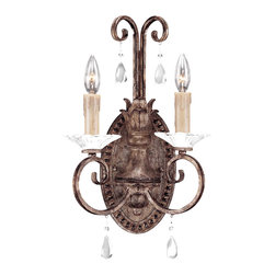 Savoy House - Savoy House 9-1402-2-256 Antoinette 2 Light Sconce - Savoy House 9-1402-2-256 Antoinette 2 Light Sconce