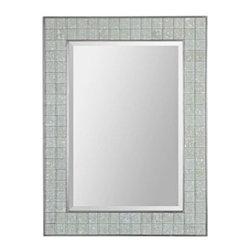 Uttermost Arroscia Decorative Mosaic 39-Inch-H Wall Mirror -