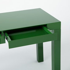 Parsons Desk with Drawers - Spruce Green