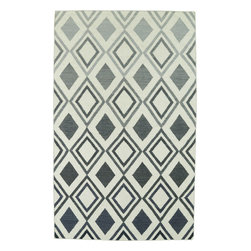 Kaleen - Kaleen Glam GLA09 (Grey) 9' x 12' Rug - This Flat Weave rug would make a great addition to any room in the house. The plush feel and durability of this rug will make it a must for your home. Free Shipping - Quick Delivery - Satisfaction Guaranteed