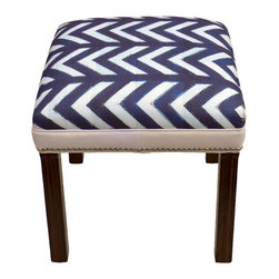 """Carrier Collective - """"BackBone"""" Ottoman - Meet """"BackBone"""".  One of our Native American inspired designed Ottomans."""