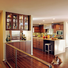 Contemporary Kitchen by J.S. Brown & Co.