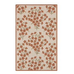Surya - Surya Cannes Parchment Indoor/Outdoor Polyester Rug, 8' x 10' - Material: 100% PolyesterCare Instructions: Blot Stains