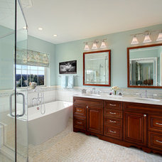 Traditional Bathroom by Decorating Den Interiors- Corporate Headquarters