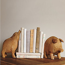 Eclectic Bookends by Garnet Hill