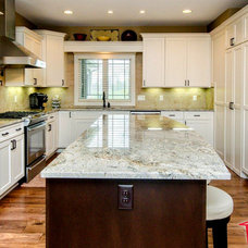 Eclectic Kitchen Islands And Kitchen Carts by Consolidated Kitchens & Fireplaces