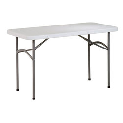 "Office Star Products - 4' Resin Multi Purpose Table - 4' Resin Multi Purpose Table. Durable Construction. Light Weight Sleek Design. Powder Coated Tubular Frame. Ideal for Indoor or Outdoor Use. Easy Storage. Meets or Exceeds Test Standards (BIFMA and MTL); Series: Folding Resin Multi Purpose; Color: Resin; Materials: Resin; Durable Construction; Light Weight Sleek Design; Powder Coated Tubular Frame; Ideal for Indoor or Outdoor Use; Easy Storage; Meets or Exceeds Test Standards (BIFMA and MTL); Dimensions: 48""W x 24""D x 29.25""H"