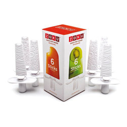 Zoku - Zoku Set of 6 Sticks & Drip Cups - Zoku Set of 6 Sticks & Drip Cups - ZK102   Extra Sticks