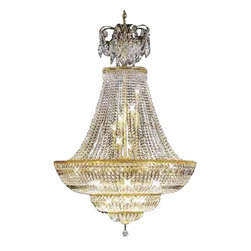 James R Moder - 92046G33 James R Moder Entry Chandelier - In most designs, the major cost of a Crystal Chandelier is the price of the Crystal components. The quantity and shapes of the Crystal utilized to trim the Chandelier and most importantly, as in grades of diamonds, the crystal quality determines the price. James R Moder  Crystal offers BUDGET Crystal trim