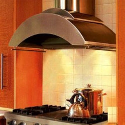 """Vent-A-Hood - Contemporary Series ZTH-248 SS 48"""" Chimney Style  Wall Mount Range Hood With 600 - Vent-A-Hood makes the perfect range hoods for today39s motion-filled kitchens Unmatched at whisking grease and heat-polluted air away from your cooking area Powerful enough for heavy-duty professional-style cooking equipment And quieter than any othe..."""