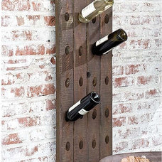 Eclectic Wine Racks by Candelabra