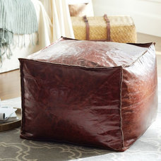 Traditional Footstools And Ottomans by Pottery Barn