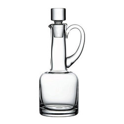 Hospitality Glass - 7H x 1.25T 8.25 oz Oil & Vinegar with Glass Stopper 6 Ct - 8.25 oz Oil & Vinegar with Glass Stopper