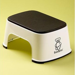 Kids BABYBJORN Safe Step Stool - Empower your child to reach things on their own with this cute step stool. Basic and made of Bjorn-esque good design, this is a sleek addition to a space. It will look great in a kitchen or bathroom or playroom, and will seriously change your own life. Believe me.