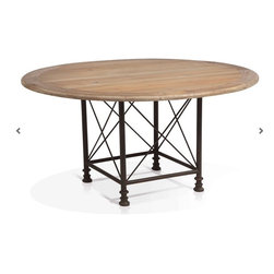 ARTeFAC - Round Pedestal Dining Table - Round Pedestal Dining Table