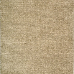 "Nourison - Nourison Fantasia FAN1 (Beige) 8' x 11' Rug - Hand-woven in India, these shag-like area rugs feature a truly unique look and texture. The contrast of light and dark colors of varying density creates a ""fantastic"" marble effect in modern color combinations. Makes an artistic addition to any environment."