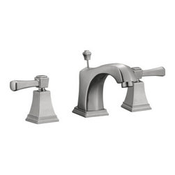 DHI-Corp - Torino Wide Spread Lavatory Faucet, Satin Nickel - The Design House 522052 Torino Wide Spread Lavatory Faucet features a dual handle design, 8-inch center mount and a brass popup for sealing your drain. This faucet's body is made of brass and the handles are made of zinc alloy. Finished in satin nickel, this faucet is refined and elegant with a ceramic disc cartridge and brass waterways. The brass waterways contain zinc and copper which are known to prevent antimicrobial growth ensuring safe and clean water for your family. Compared to the 1-5 year lifespan of traditional faucets, ceramic disc faucets can last up to 30 years and provide ultimate protection against corrosion to the water valve. With the Water Sense label, this faucet is a water-efficient product and certified to meet EPA Water Sense criteria for efficiency and performance. The 1.3-gallon per minute flow rate ensures a steady water flow after years of everyday use. This faucet has a quarter turn stop lever handle operation and is UPC, ADA, lead-free and cUPC compliant. The Design House 522052 Torino Wide Spread Lavatory Faucet comes with a lifetime limited warranty that protects against defects in materials and workmanship. Design House offers products in multiple home decor categories including lighting, ceiling fans, hardware and plumbing products. With years of hands-on experience, Design House understands every aspect of the home decor industry, and devotes itself to providing quality products across the home decor spectrum. Providing value to their customers, Design House uses industry leading merchandising solutions and innovative programs. Design House is committed to providing high quality products for your home improvement projects.