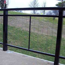 Modern Home Fencing And Gates by Ultra-tec Cable Railing by The Cable Connection