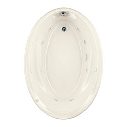 "American Standard - American Standard 2903.048WC.222 Savona Oval EcoSilent Whirlpool,  Linen - American Standard 2903.048WC.222 Savona Oval EcoSilent Whirlpool,  Linen. This oval EverClean Whirlpool features an acrylic construction with fiberglass reinforcement, a molded-in backrest with dual integral arm rests, a pre-leveled tub bottom, an EverClean system that inhibits the growth of bacteria, mold, and mildew, a single-speed pump/motor, a deck-mounted air switch (on/off), 2 silent air volume controls, a quick connect Safe-T-Heater connection system (heater sold separately), and 8 multi-directional and flow adjustable jets. This model measures 60"" by 42-1/4"" by 21-1/4"", and comes with an ultra-quiet, ultra-efficient EcoSilent pump."