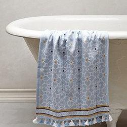 Anthropologie - Mekong Tassel Hand Towel - *Cotton