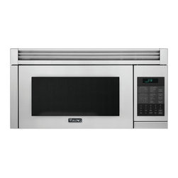 "Viking 3 Series 30"" Convection Microwave Hood, Stainless Steel 