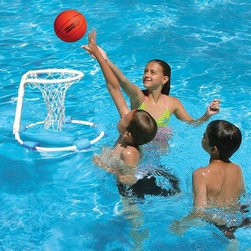 Poolmaster - All Pro Water Basketball Game - All Pro Water Basketball Game features frames and rings made from non-corrosive PVC tubing for lasting use!  This item cannot be shipped to APO/FPO addresses. Please accept our apologies.