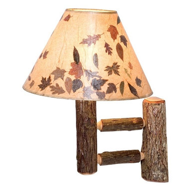 Fireside Lodge Furniture - Hickory Single Wall Sconce - Hickory Collection. Shade not included. UL certified. All Hickory Logs are bark on and kiln dried to a specific moisture content. Clear coat catalyzed lacquer finish for extra durability. 2-Year limited warranty. 18 in. W x 12 in. D x 17 in. H (30 lbs.)