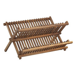 Acacia Dish Rack This Is Another Classic No Need To Dry