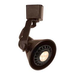 WAC Lighting - WAC Lighting HTK-103LED H Series Line Voltage Track Head With LED GU10 Bulb Incl - Lamping Technologies: