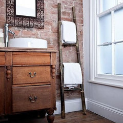 eclectic towel bars and hooks by Not on the High Street