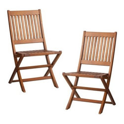 Smith & Hawken 2-Piece Wood Folding Patio Chair Set - I like to have a couple sets of folding chairs on hand for larger gatherings. These ones are simple, and the teak is beautiful and would complement a variety of patio sets. Plus, they'd take up very little room in storage when we don't need them!