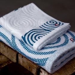 Bath - uzushio wave towel set