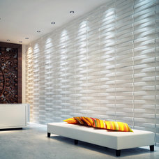 Contemporary Wallpaper by threedwall